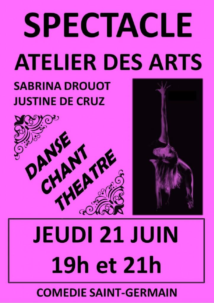atelier des arts troyes cours danse moderne classique contemporain chant théâtre improvisation cinéma
